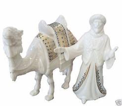 Lenox China Jewels Camel With Master Figurine Set Nativity Christmas NEW... - $150.00
