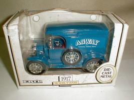 Vintage 1989 Ertl bank model T agway truck NIB diecast metal - $22.00