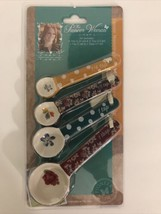 NEW The Pioneer Woman 4 Piece Measuring Spoon Set Fall Flowers - $24.74