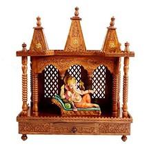 Sheesham Folding Wooden Temple Mandir Home dcor festivals - $529.99