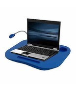 Laptop Desk Tray And Cup Holder Notebook Portable Table Bed Lap Stand Wo... - $21.81