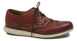Cole Haan Men's OriginalGrand Wingtip Oxford Size 11 Woodbury Ivory C26471 - $53.03