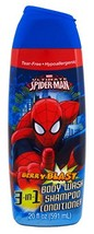 Marvel Spider Man 3 In 1 Body Wash, 20 Ounce - $15.56