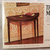 House Of Miniatures Hepplewhite Side Table, New Old Stock Model 40004 - $7.00