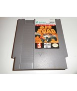 VINTAGE ORIGINAL NINTENDO NES OFF ROAD TRUCK VIDEO GAME 4 PLAYERS CAN PLAY - $22.21