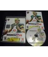 Madden NFL 09 (Sony PlayStation 3, 2008) - $3.83