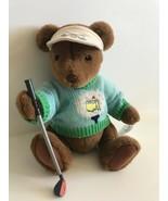 """Gund Master Augustas 01 Masters Golf 10"""" Teddy Bear with Club - $18.69"""