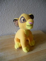 Disney Lion King Simba Plush 6.5 Tall CUTE 2011 - $6.66