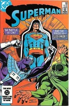Superman Comic Book #396 DC Comics 1984 NEAR MINT NEW UNREAD - $7.84