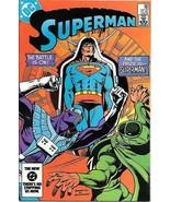 Superman Comic Book #396 DC Comics 1984 NEAR MINT NEW UNREAD - $7.84