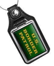 United States Border Patrol Green Gold Design Faux Leather Key Ring - €9,82 EUR