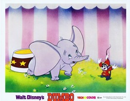 Dumbo Original Disney Lobby Card R72 Classic Animation Timothy Mouse - $23.02