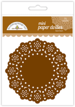 "MINI Paper Doilies.  75 Pack. 3""  Choose Color. Doodlebug Designs image 9"