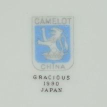 Camelot China Gracious Pattern 1990 Lidded Casserole Dish Japan Blue Flo... - $49.99