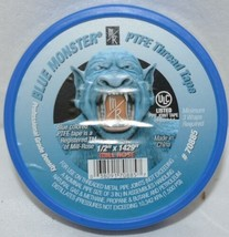 Mill Rose Blue Monster PTFE thread Sealing Tape Clean Fit image 1