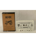 AC/DC cassette tape For Those About To Rock We Salute You vintage 1981 A... - $5.00