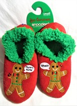 Ugly Christmas Snoozies Gingerbread  NWT  Women's 5-6 Slippers - $13.00