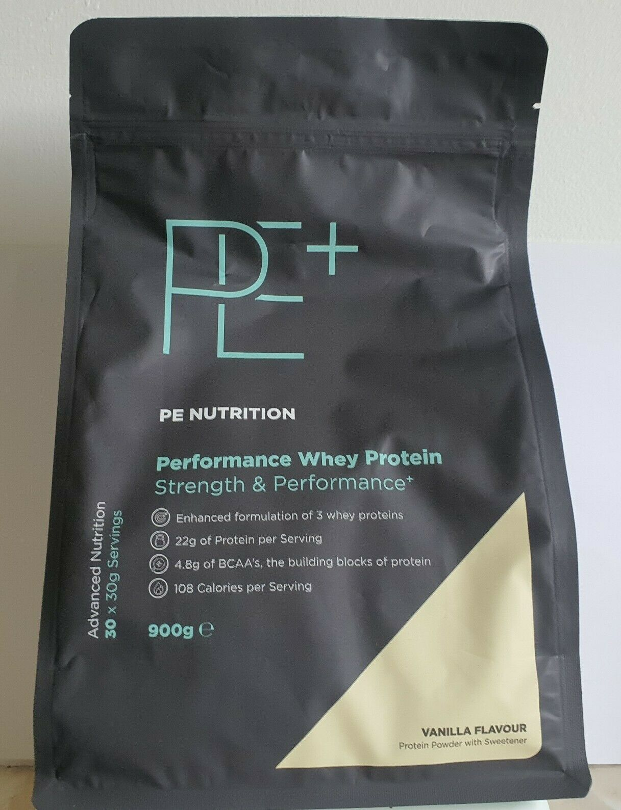 Primary image for PE Nutrition Performance Whey Vanilla Flavour 900g