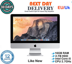 Apple iMac 21.5-Inch Quad Core Intel i5 2.7GHz 16GB RAM 2TB HDD Late 201... - $843.48
