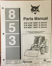 Bobcat 853 Parts Manual Book Part # 6724090 - $50.60+