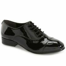 Ivanka Trump Women Cap Toe Oxfords Olie Size US 8M Black Patent Leather - $60.00