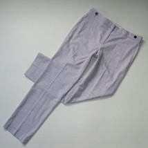 NWT Ann Taylor The Straight in Peri Nova Purple Full Length Stretch Pant... - $32.00
