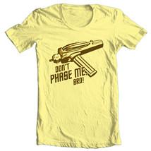 Star Trek T-shirt Free Shipping Dont Phase Me 100% cotton Spock Kirk CBS193 image 2