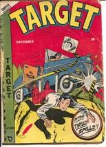Target Vol. 9 #9 1948--LB Cole auto crash cover-Gary Stark-Don Rico-G - $44.14