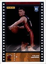 2019-20 Panini NBA Sticker Box Standard Size Insert #91 Tyler Herro Miam... - $7.95