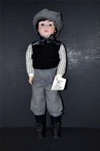 "OOAK 22"" TALL ALL BISQUE FULLY ARTICULATED DOLL NAMED DANNY - $99.00"