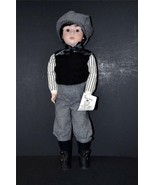 """OOAK 22"""" TALL ALL BISQUE FULLY ARTICULATED DOLL NAMED DANNY - $99.00"""