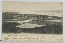 MN Lake City Minnesota Bird's Eye View Early udb to Goodhue Postcard Q11 - $11.95