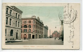 Granville Street Vancouver British Columbia Canada 1906 postcard - $6.88