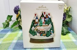 Hallmark Holiday Hilltop Tree Farm Magic Ornament 2009 - $35.77
