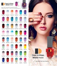 Dare To Wear MOOD COLORS - Manicure & Pedicure Nail Polish Mood Changing - $5.95