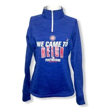 Chicago Cubs Authentic We Came to Reign Post Season 2016 Therma Base Jacket - $29.69