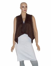 Calvin Klein Jeans Women's Vest Top Slate Brown Cotton Size Small $79.50 - $27.82
