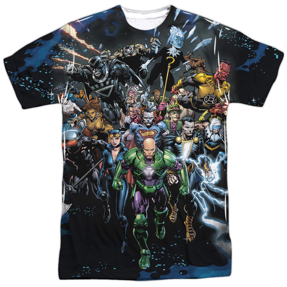 Primary image for JLA Justice League of America Forever Evil Villains Sublimation Front T-shirt