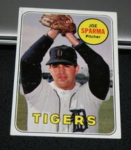 1969 Topps Baseball Card #488 Joe Sparma - $0.98