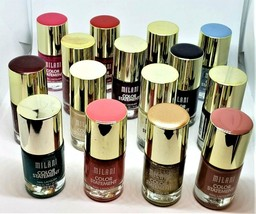 Lot of 15 New Milani Color Statement Nail Lacquer Polish 15 Different Co... - $27.75