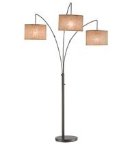 Adesso 4238-26 Trinity Floor Lamps 44in Antique Bronze 3-light - $200.00