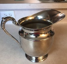 F B Rogers Silver on Copper Water Pitcher 1707 - $23.05