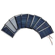 AOSHIKE 10Pcs 5V 30mA Micro Solar Panels for Solar Power Mini Solar cell... - €16,98 EUR