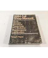 1984 Ford Car Factory Shop Service Manual - Tempo Topaz - 365-126-83G - $39.99