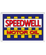 Speedwell Motor Oil Reproduction Garage Shop Metal Sign 12x18 - $25.74
