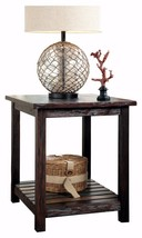 Chairside End Table Nightstand Stand Accent Bedside Storage Side Bedroom... - $187.25