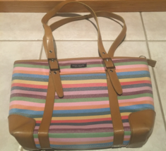 Kate Spade Multi-Color Striped Shoulder Bag - €52,60 EUR
