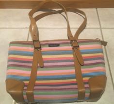 Kate Spade Multi-Color Striped Shoulder Bag - $1.147,38 MXN