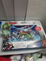 """Marvel Avengers 24""""x36"""" 100 Pieces Jumbo Floor Jigsaw Puzzle Pack New in... - $14.50"""