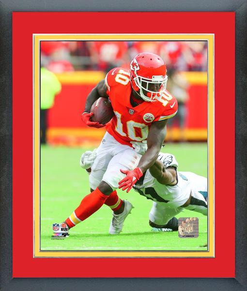 Tyreek Hill  2017 Kansas City Chiefs vs Eagles -11x14 Matted/Framed Photo